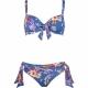 Lidea Kauai 5800 Bikini hawaiian denim