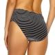 Lidea Monochrome Avenue 467 Bikini-Slip black-white