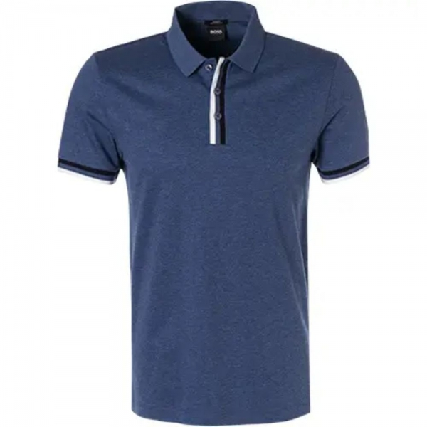 Boss 50406452 Poloshirt Blau