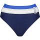 Lidea Contrast 525 Bikini-Taillenslip blue white