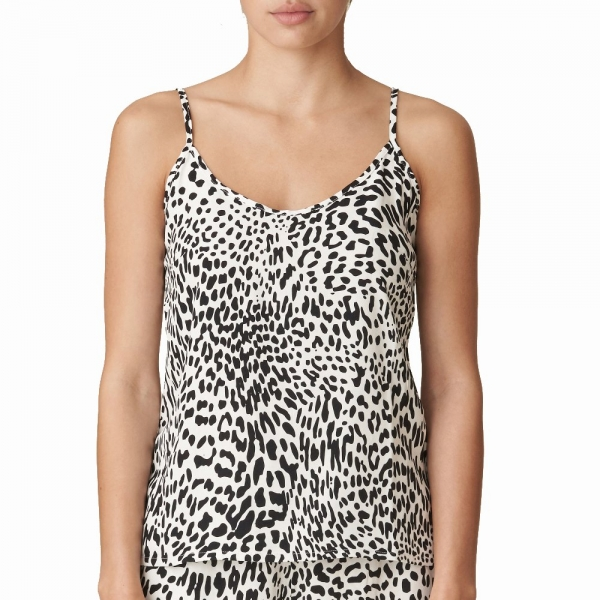 Marie Jo LAventure Loungewear 0822002 Homewear-Top black and white