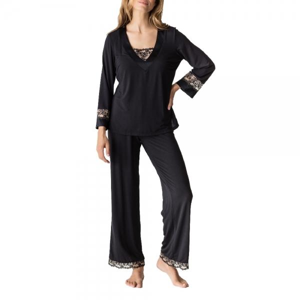 PrimaDonna Soie Belle 0862960 Homewear schwarz