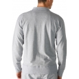 Mey Enjoy 23593 Track-Top light grey melange