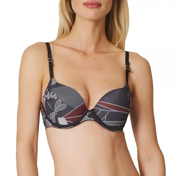 Marie Jo LAventure Finn 0121817 Push-up BH graphit