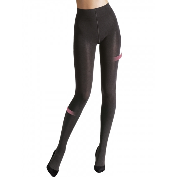 Wolford Individual 100 Leg Support Tights 18975 Strumpfhose anthracite