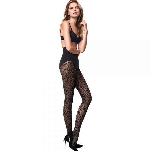 Wolford Matrix Tights 14618 Strumpfhose black/matrix