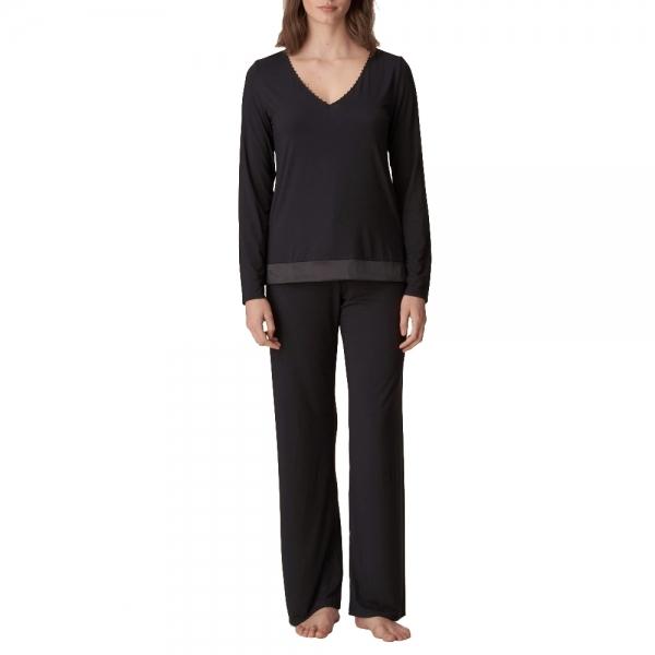 Marie Jo Pearl 0802120 Schlafanzug schwarz