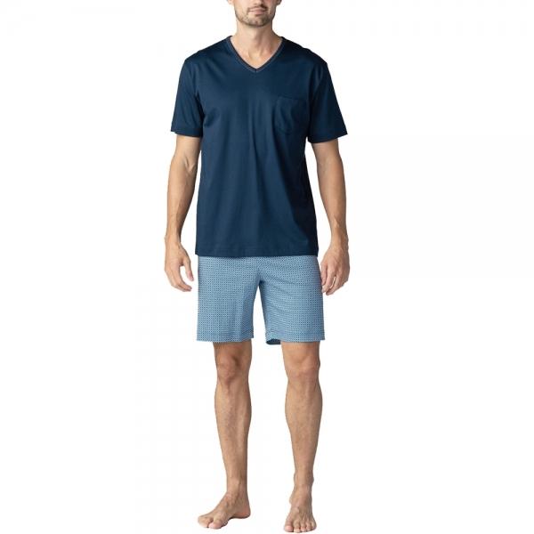 Mey San Pedro 11371 Schlafanzug yacht blue